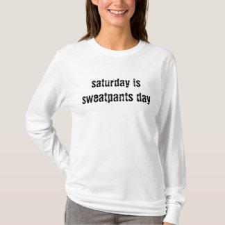 La camiseta de sábado (la suya)