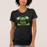 La camiseta de St Patrick asiático del irlandés