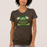 La camiseta de St Patrick escocés del irlandés