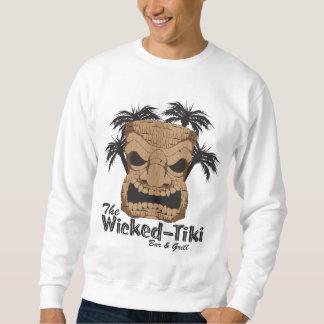 La camiseta de Tiki de los hombres traviesos de la