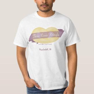 La camiseta de tres de los ríos hombres de Kringla Camisas