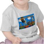 La camiseta del 1r bebé feliz del cumpleaños