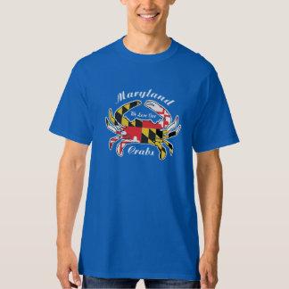 La camiseta del amante del cangrejo de Maryland Polera