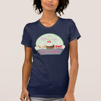 La camiseta del amante del helado de Kawaii Remeras
