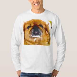 La camiseta del amante del perro de Pekingese