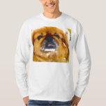 La camiseta del amante del perro de Pekingese Poleras