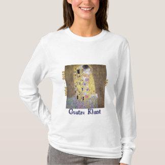 La camiseta del aniversario de Klimt 150 del beso