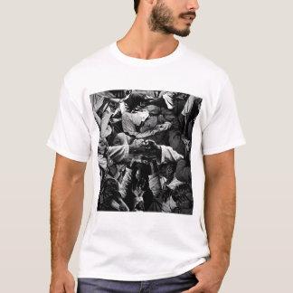 La camiseta del apretón