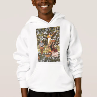 La camiseta del árbol del dinero embroma sudadera