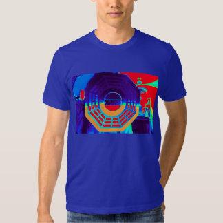 la camiseta del bagua para las mujeres unisex de playera