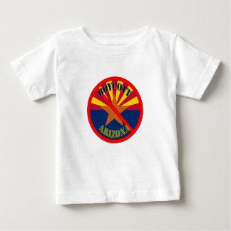 La camiseta del bebé de Arizona del boicoteo
