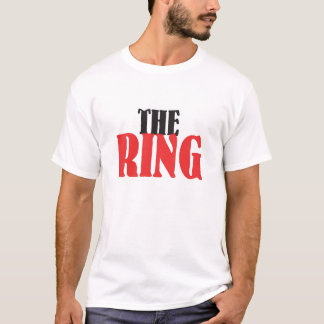 La camiseta del boxeo del anillo