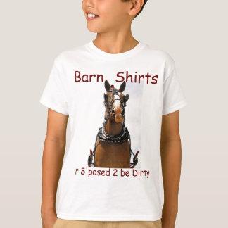 """""""La camiseta del camisetas del granero"""
