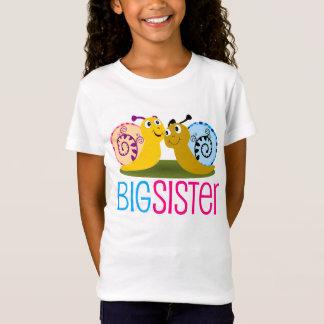 La camiseta del caracol de los chicas adorables de