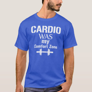 "La camiseta del culturista ""cardiia era mi zona de"