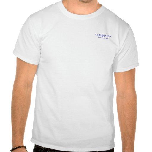 la camiseta del escritor de St@tic