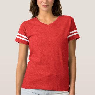 La camiseta del fútbol de las mujeres es siempre