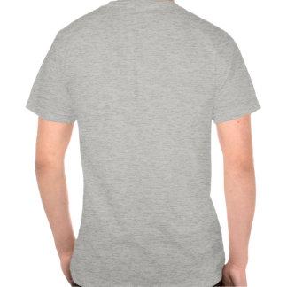 La camiseta del gato de los hombres tristes del ca