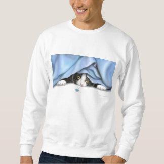 La camiseta del gato del cazador del insecto jersey
