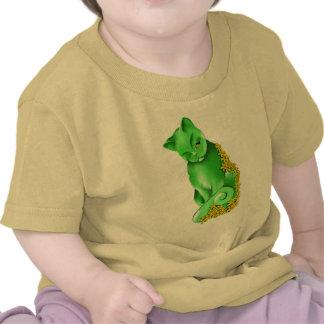 La camiseta del gato del jade