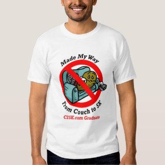 La camiseta del graduado de C25K Poleras