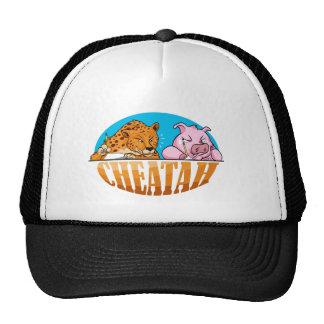 La camiseta del guepardo, el guepardo de engaño gorro de camionero