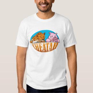 La camiseta del guepardo, el guepardo de engaño poleras