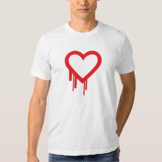 La camiseta del insecto de Heartbleed Poleras