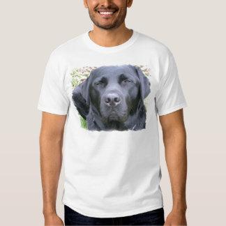 La camiseta del labrador retriever de los hombres playeras