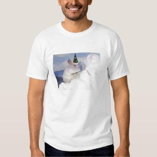 La camiseta del mago del nivel 33 de los hombres poleras