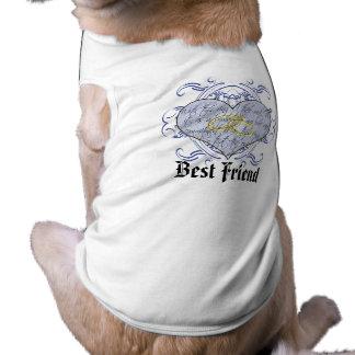 La camiseta del mejor amigo con este anillo I Thee Playera Sin Mangas Para Perro