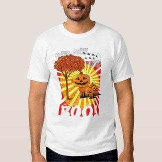 La camiseta del muchacho de CABEZAS de la CALABAZA Polera