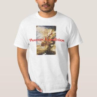 La camiseta del negocio de la condición del faetón