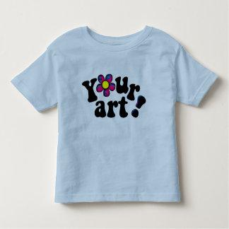 ¡La camiseta del niño con sus propias Playeras