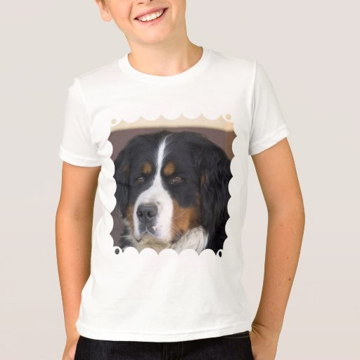La camiseta del niño de Berner Sennenhund