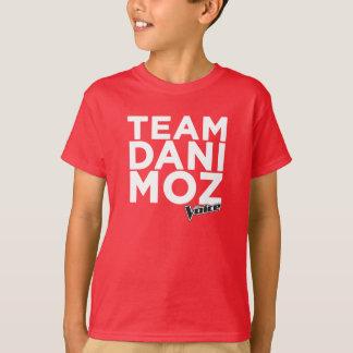 La camiseta del niño de Dani Moz del equipo - rojo