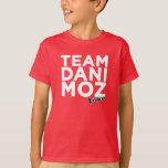 La camiseta del niño de Dani Moz del equipo - rojo Remeras