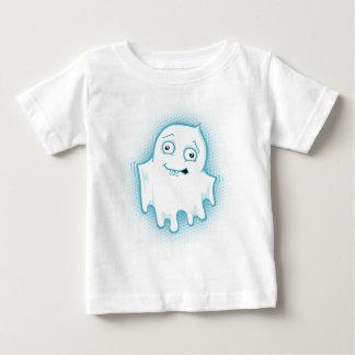 La camiseta del niño de Halloween del fantasma de Playeras