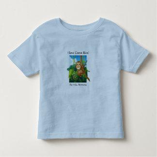 """La camiseta del niño de Hermosa """"amo a Costa Rica"""""""