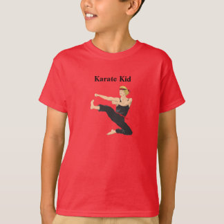 La camiseta del niño de Karate Kid Poleras