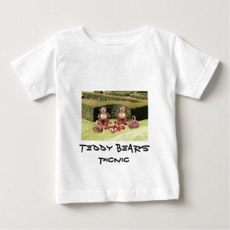 La camiseta del niño de la comida campestre de los playeras