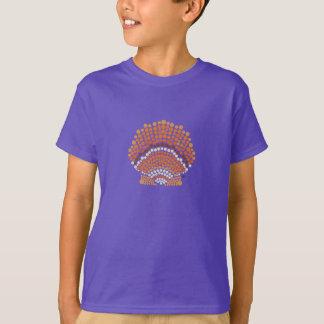 La camiseta del niño de la concha de peregrino de playeras