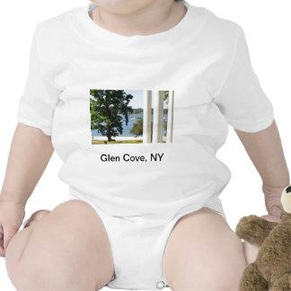 La camiseta del niño de la ensenada de la cañada