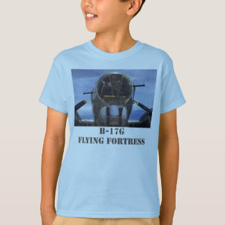 La camiseta del niño de la fortaleza del vuelo de remeras