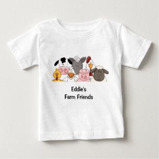 La camiseta del niño de los amigos de la granja playeras