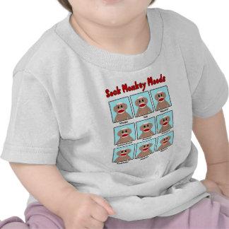 La camiseta del niño de los humores del mono del c