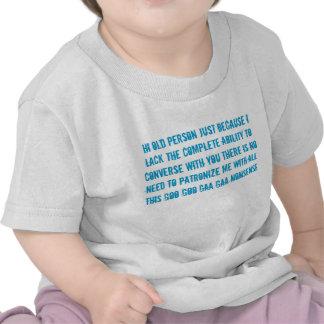 la camiseta del niño del bebé del discurso de la p