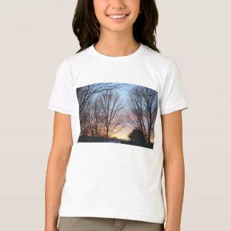 La camiseta del niño del cielo de diciembre