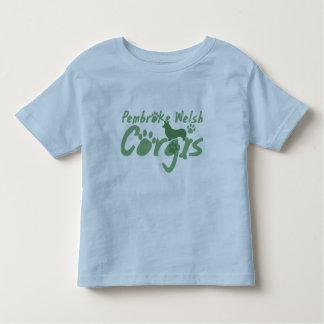 La camiseta del niño del Corgi Galés del Pembroke Playera