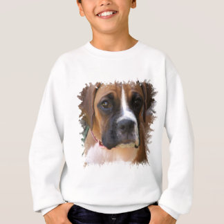 La camiseta del niño del diseño del perro del